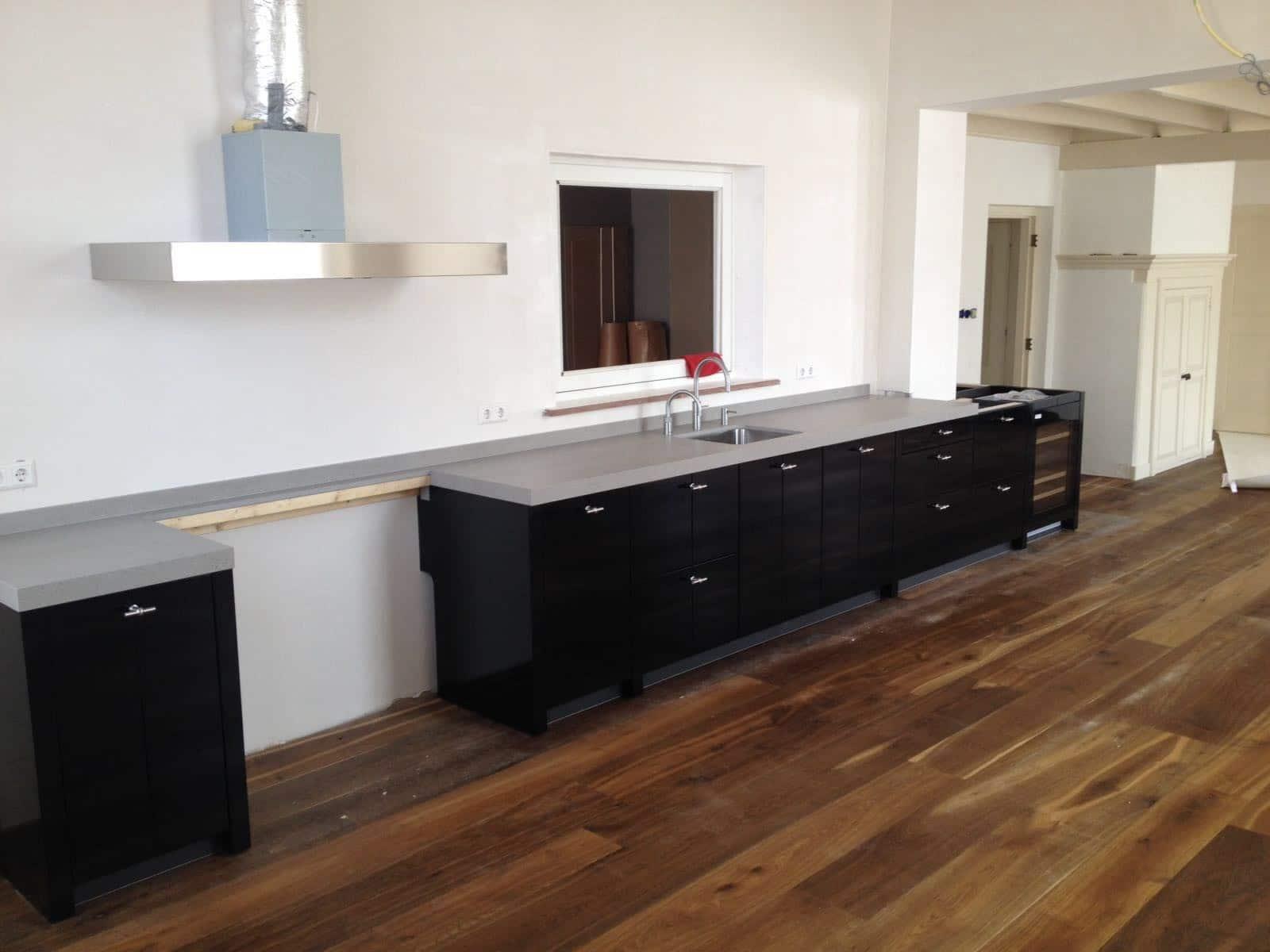 byBeelen private label keuken in zwart hoogglans - Keukenstudio Beelen